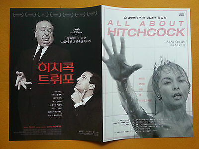 Hitchcock Truffaut CANNES 2016 Korean Movie Posters Flyers Ver.2 of 2 (4 pages)