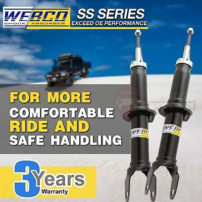 2 Front WEBCO Elite Strut Shock Absorbers Fit FORD TERRITORY SX SY 2WD 07-11