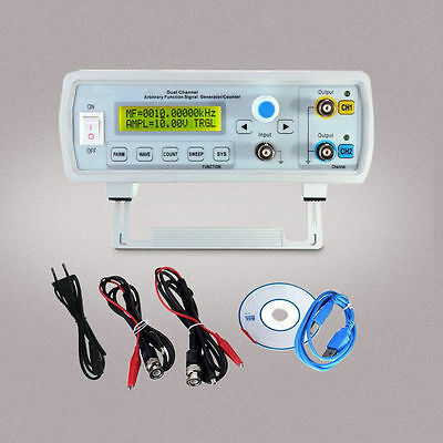 FY3200S 24MHz Digital DDS Dual-channel Arbitrary Function Signal Generator US KY