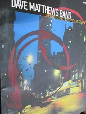 Dave Matthews Band Before These Crowded Streets Piano/Vocal/Guitar Music Book, P