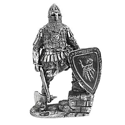 3 oz Silver Russian Warrior Middle Ages .999 Fine Silver - Art of War Series (An