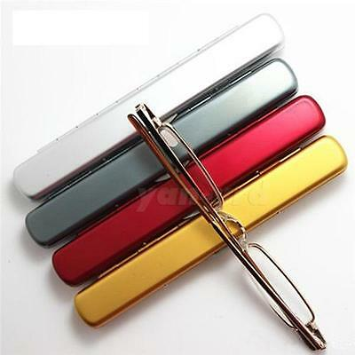 Slim Small Mini Metal Reading Glasses Reader Spectacles +1.0 1.5 2.0 2.5 3.0 3.5