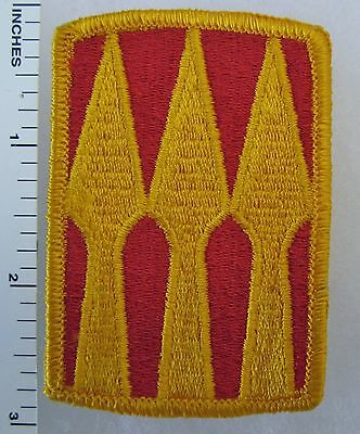 3rd SUPPORT BRIGADE US ARMY SHOULDER PATCH, ORIGINAL COLD WAR Vintage G.I.