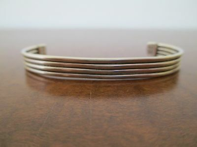 Taxco, Mexico - Sterling Silver Cuff Bracelet - Adustable, 15.2 grams