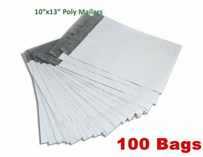 "100 10"" x 13"" Self Sealing Poly Mailers Shipping Mailing Envelopes Plastic Bags"