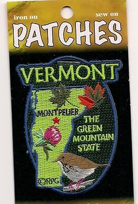 Souvenir Patch - The State Of Vermont - The Green Mountain State - Montpelier