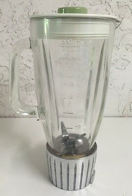 Braun KM32 MX32 Kitchen Machine Glass Blender Jar & Blade Attachment Part
