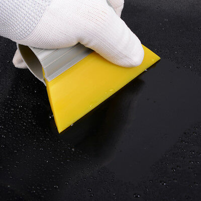 3 1/2 SOFT YELLOW TURBO SQUEEGEE Water Scraper Mini Rubber Squeegee Tinting Tool
