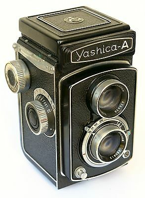 Yashica-A 6x6 120 Twin Lens Reflex TLR Beautiful!