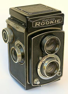 Yashica A Yashicaflex ROOKIE 6x6 120 TLR Twin Lens