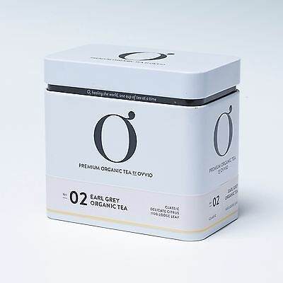 NEW No 2 Earl Grey Organic Tea Tin by Ovvio Organics