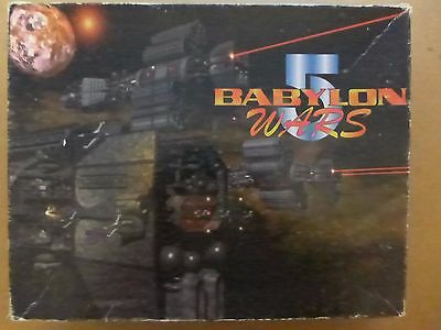 Babylon 5 Wars Boxed Set w/ 2nd ed rules no minis extra counters - AoG 1997 DA62