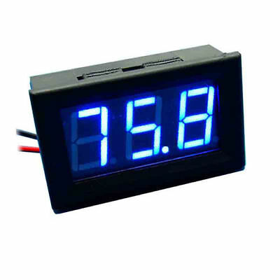 LED Car Auto Voltmeter Panel Mount Gauge Mini Digital 5.0V-30V /2-3 DAY DELIVERY