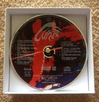 The Cure Mixed Up CD Clock with white gift box