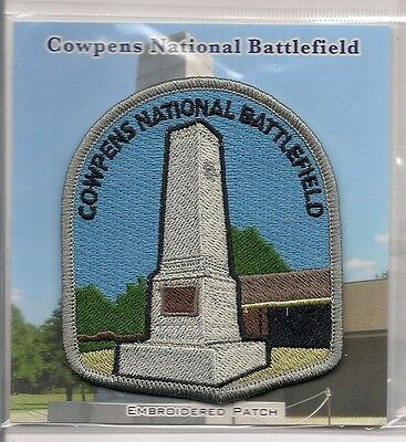 Souvenir Patch - Cowpens National Battlefield, South Carolina