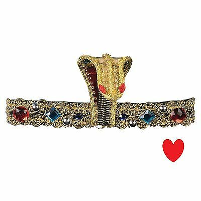 Cleopatra headband headdress egyptian pharoah