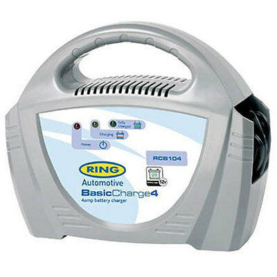 Ring 12V 4 Amp Battery Charger Quality And Reliability - Free Tracked Postage