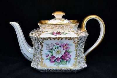 Rare Antique Rosenthal Large Teapot Handpainted and Gilded. Excellent Condition