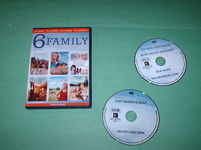 6 Feature Family Movies (DVD)