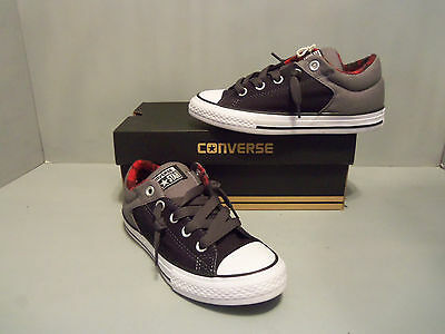 757fa0af7ba Converse Kids  CT All Star High Street Low Top Sneaker NIB Black SIZES!  649976F