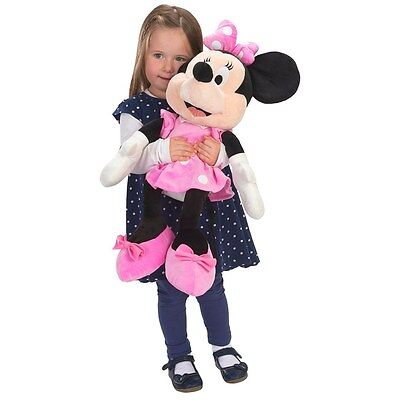 "Disney Minnie Mouse 60cm Plush - Big 24"" tall teddy soft toy - Brand New"