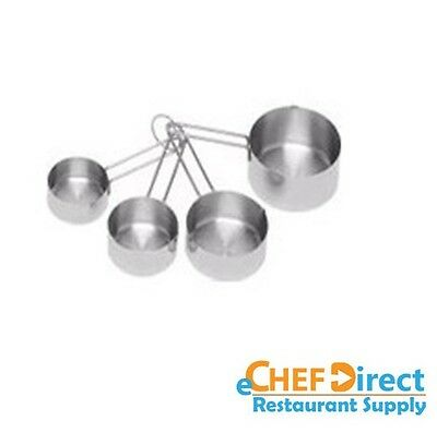 Stainless Steel 4-Piece Measuring Cup Set