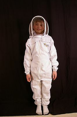 Childs Beekeeping Suit with Fencing Veil - Size 3XS