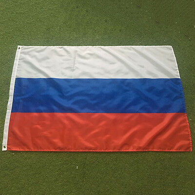 Large 3'x5' Russian Flag Polyester the Russia National Banner 1WA
