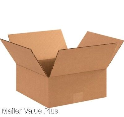 25 10 x 10 x 4 Corrugated Shipping Boxes Packing Storage Cartons Cardboard Box