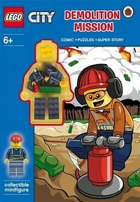 Lego City: Demolition Mission Activity Book With Minifigure by Paperback Book