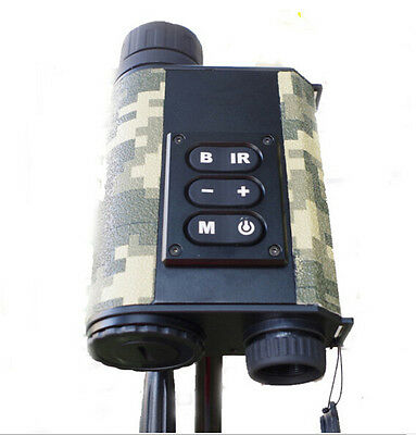 Infrared laser range finder binoculars night vision monocular for hunting tools