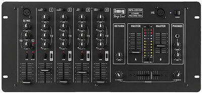 IMG Stage Line MPX-205/SW Stereo-DJ-Mischpult