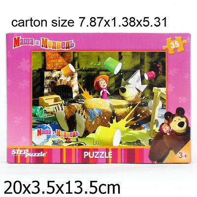 Masha and the Bear, PUZZLE 35 Pieces