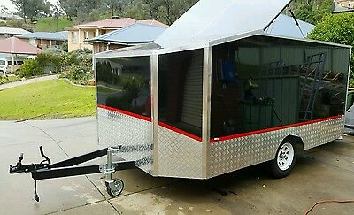 5 Bike Trailer enclosed  3600x2400 Free Delivery **