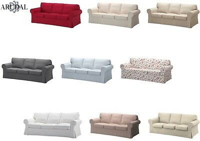 IKEA EKTORP Cover  Three Seat Sofa , in Various Colours, (Sofa Not Included)