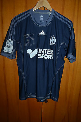 Olympique Marseille France 2013/2014 Football Shirt Jersey Maglia Adidas