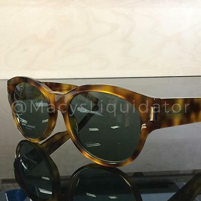 963574bd425 Yves Saint Laurent SL 67 Sunglasses Yellow Havana PAJ5L Authentic 54MM