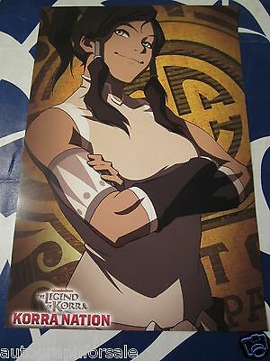 Legend of Korra Nation 2014 San Diego Comic-Con SDCC 11x17 promo poster RARE
