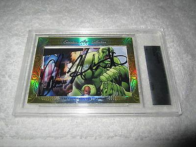 Chris Hemsworth 2016 Leaf Masterpiece Cut Signature auto 1/1 JSA Avengers Thor