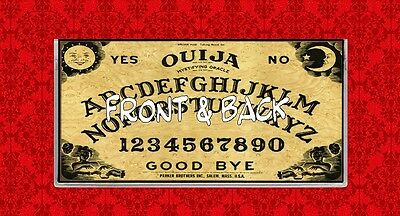 Ouija Board Game Wicca Psychic Paranormal Vinyl Checkbook Cover