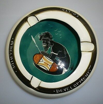 "Large Studio Anna Advertising Ashtray "" Adelaide Development Co. Ltd """