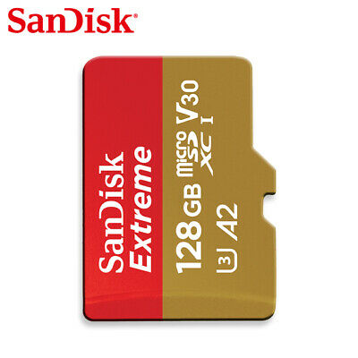 Sandisk Extreme A2 V30 128GB micro SDXC Card 160MB/s UHS-I U3 - Tracking include