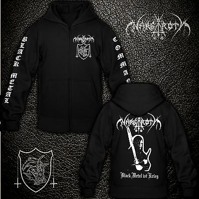 Nargaroth - Black Metal ist Krieg - Kapuzenjacke / Hooded Zipper / Sweatshirt