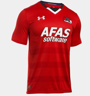 Under Armour AZ Alkmaar Fussball Trikot Home 2016 2017 Herren rot weiß