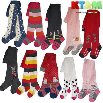New Girls High Quality Cotton Warm Soft Colourful Tights Size 2-7 Years by Gatta
