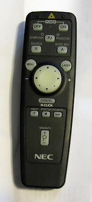 NEC LT40RT Projector Remote control with Laser pointer RD-363E (79646591)