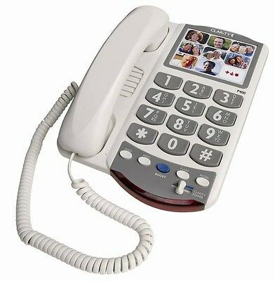Clarity P400 Amplified Phone with Picture Dialing