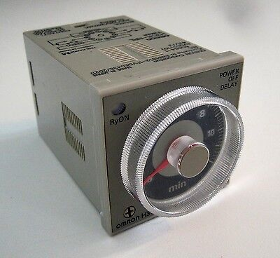 OMRON H3CR-HRL Timer Solid State Power Off Delay