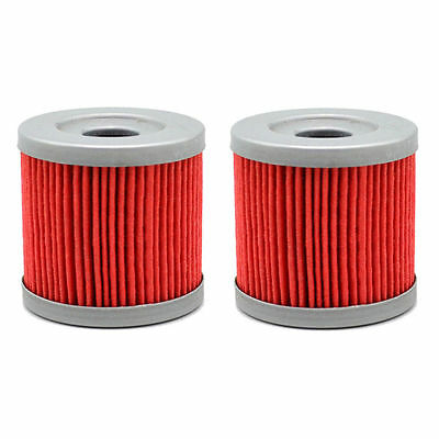 2 Pack Oil Filter For Arctic Cat DVX400 2004-2008 DVX400 TS 400 2006-2007 ATV