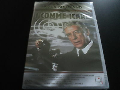 """RARE! DVD NEUF """"I COMME ICARE"""" Yves MONTAND / Henri VERNEUIL"""